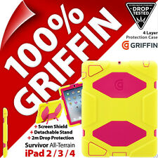 Griffin Survivor All-Terrain Protective Tablet Case Cover for Apple iPad 2 3 4