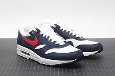 Nike Air Max 1 white/gym red-thunder blue USA Olympic size 11 LAB