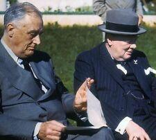 President Franklin D. Roosevelt and Prime Minister Winston Churchill, 1943
