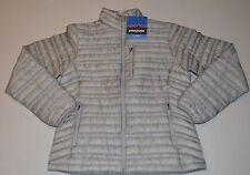NWT Womens Grey  Patagonia Ultralight 800 fill down Jacket $299  Size Large