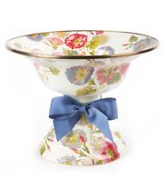MacKenzie-Childs Morning Glory Compote - LARGE - Discontinued