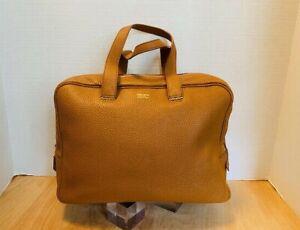 Giorgio Armani Women's Brown Pebbled leather Bag.