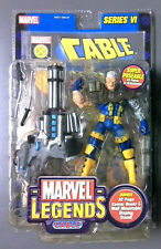Marvel Legends Series VI CABLE Action Figure - Toy Biz 2004 - New in Package