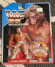 WWF Hasbro Ultimate Warrior MOC read description