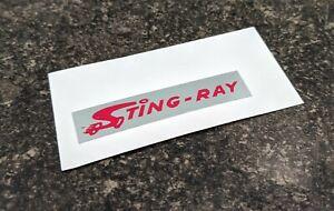 Bicycle Checkerboard Mirror Sticker - Krate - Stingray - for Schwinn Sting-ray