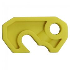 Lock Dog - Small Circuit Breaker Lock Off - Yellow Free Shipping