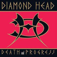 "Diamond Head-Death and Progress LP DELUXE VINYL EDITION!!! ""Death and Progress"""