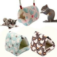 Hammock Nest Ferret Rabbit Guinea Pig Rat Hamster Mice Bed Warmer a a House Q7X3