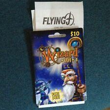 Pilot WIZARD 101 Game Card Pilot / Flying J Gas Station - Elf Pet  new