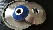 CBN-Schleifscheibe  aus Borazon   12R4  ISO9001 D-50 bis 150 mm Tellerform