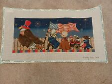 New ListingAshley Dillon 4th of July March handpainted needlepoint, stitch guide, materials