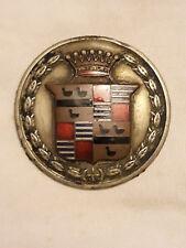très rare plaque automobile / badge / emblème / emblem / mascotte CADILLAC