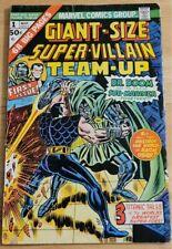 SUPER-VILLAIN TEAM-UP #1 (Giant-Size)-Sub-Mariner/Dr. Doom - Marvel - Bronze Age