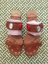 Kate Spade Slide Sandals ~ Sz 7 ~ Boho Hindu Moroccan Gypsy Style ~ Worn Once!