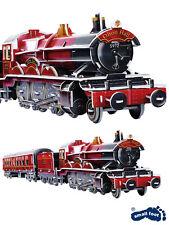 "3D Puzzle Steam Train Jigsaw 201 Pieces Vintage Engine ""Olton Hall"" Film Kids"