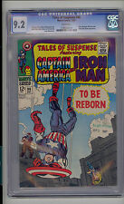 Tales of Suspense #96 CGC 9.2 NM- Unrestored Marvel Iron man Captain America