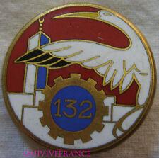IN11277 - INSIGNE 132° Escadron du Train, MAROC, rond 37 mm