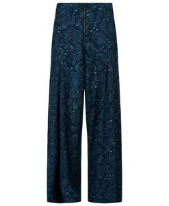 Sweaty Betty Duodecimal Paisley Trousers Size S 1915-B9