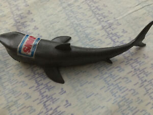 JAWS Official Vintage rubber Toy Shark Universal Stud Spielberg Bruce Game Vinyl
