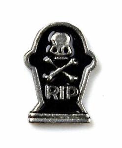 Tombstone RIP Lapel Pin