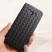 Custodia cover WEAVE Silicone Design TPU per Samsung Galaxy S8+ S8 Plus G955F