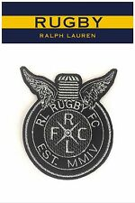NEW Rare Rugby Ralph Lauren Cotton Patch Racing Club Motor Wings R.L.R.F.C