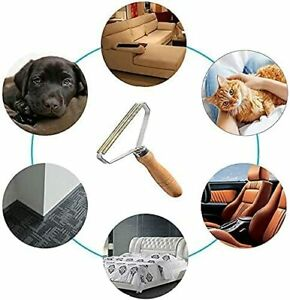 Portable Lint Remover  Pet Fur Clothes Fuzz Trimmer Manual Reusable Roller