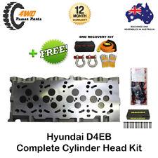 Hyundai Grandeur Santa D4EB Diesel Complete Head Kit 4 Cyl 16v VRS Gasket, Bolts