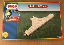 Learning Curve Wooden Thomas Train Switch T-Track! New