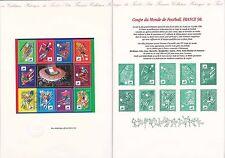 Document Philatélique Timbre 1er Jour : 24/01/ 1998 - Coupe Monde Football