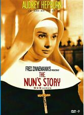 "New DVD ""The Nun's Story"" Audrey Hepburn, Peter Finch"