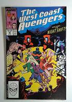 West Coast Avengers #40 (1989) Marvel 8.5 VF+ Comic Book
