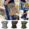 Men Tactical Motorcycle Riding Hiking Fanny Pack Waist Thigh Drop Leg Bag Canvas