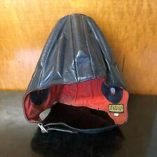 Vintage Leather Pontvert Skydiving Frap Hat France