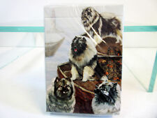 New Keeshond Dog Poker Playing Cards Deck of Card Ruth Maystead 4 Dogs