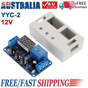 YYC-2 DC 12V LED Automation Delay Timer Control Switch Relay Module with Case AU