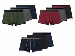 3 Livergy Boxershorts Boxer M L XL XXL XXXL XXXXL Baumwolle Unterwäsche 3XL 4XL