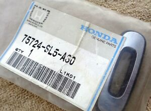 """NEW NOS 92-94 Chrome Acura Vigor """" O """" Trunk Lid Hatch Emblem Ornament Letter"""