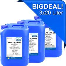 3x20l LMFA 10W40 Motoröl für LKW und Busse mit MAN M 3275 60 Liter