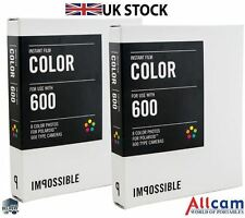 2 Pack: Impossible PX 680 Cool Colour Shade Instant Film for Polaroid 600 Camera
