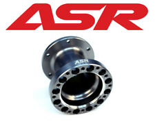 "ASR 3"" STEERING WHEEL SPACER BLACK FITS MOMO SPARCO OMP MUGEN NARDI PERSONAL"