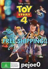 Toy Story 4 DVD Disney Pixar Reg 4 FREE POST! (2019) New! Sealed!