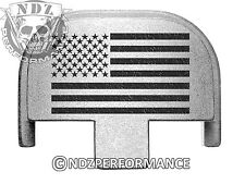 Rear Slide Plate for Smith Wesson S&W SD9 SD40 VE 9mm 40SL US Flag