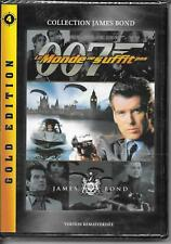 DVD ZONE 2--JAMES BOND--LE MONDE NE SUFFIT PAS--BROSNAN/CARLYLE/MARCEAU--NEUF