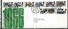 GB -QEII - 1966 First Day Cover '' Battle of Hastings '' - Battle P/mk
