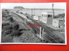 PHOTO  Worthy Downs RAILWAY STATION Platform