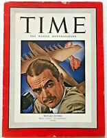 Vintage 1948 Howard Hughes TIME MAGAZINE Photo Cover Feature Spruce Goose