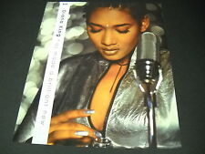 Diana King 2-sided 1997 Promo Poster Ad for release of Think Like A Girl mint