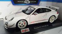 MAISTO 1:18 Scale Diecast Model Car Porsche 911 GT3 RS 4.0 in White