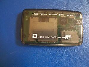 USB Hi-Speed 23 in 1 reader
